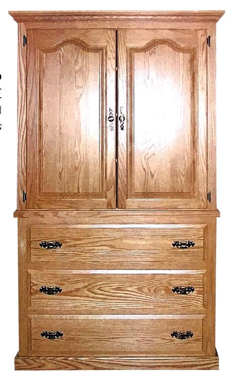 2 piece armoire traditional large 2 piece armoire amish traditions wv