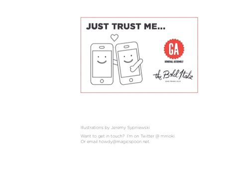 just trust me just trust me how to design trustworthy products