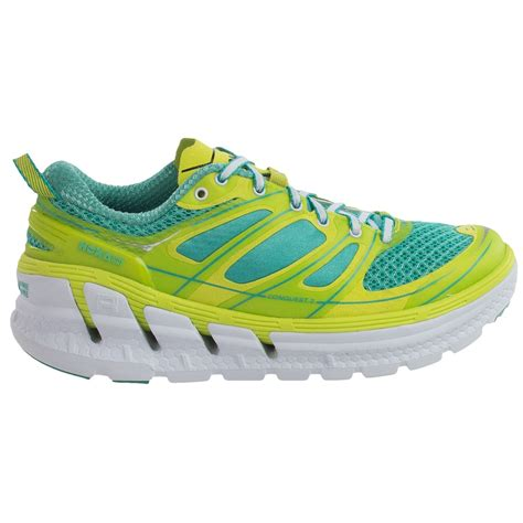 hoka running shoe reviews hoka one one conquest 2 running shoes for 9679g