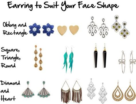 best earrings for diamond shaped faces how to choose earrings to flatter your face shape