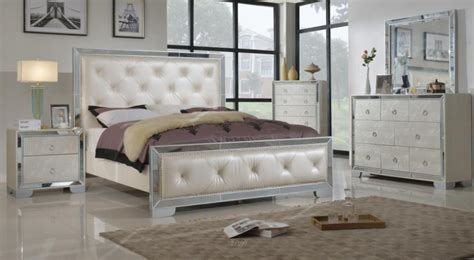 mirrored bedroom furniture style editeestrela design