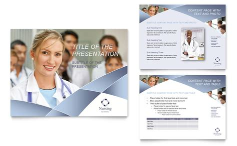 free nursing powerpoint templates nursing school hospital powerpoint presentation