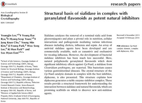 acta crystallographica section d flavonoids can become the new antibiotics scientists