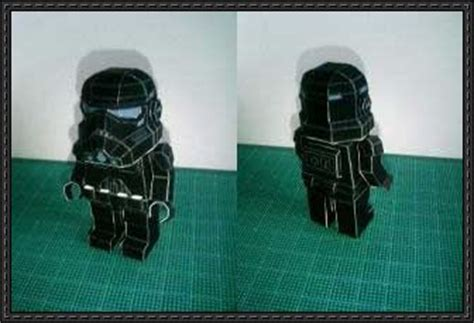 Papercraft Stormtrooper - lego papercraftsquare free papercraft