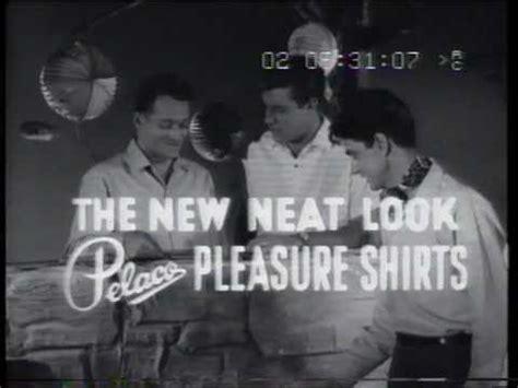 pelaco pleasure shirts 1960 tv commercial youtube
