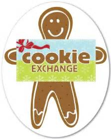 printable cookie exchange sign template