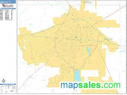 abilene zip code map abilene zip code wall map basic style by marketmaps