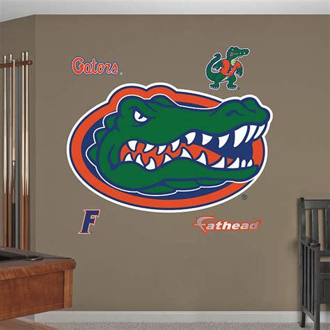 florida gators home decor florida gators logo wall decal shop fathead 174 for florida