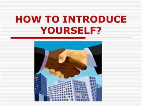 How To Introduce Yourself Authorstream Introduce Yourself Ppt
