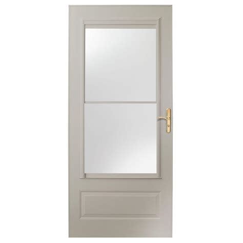 Emco Door by Emco 36 In X 80 In 75 Series White Self Storing