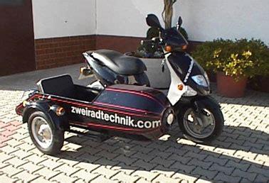 50ccm Motorrad Mit Beiwagen by Roller Beiwagen