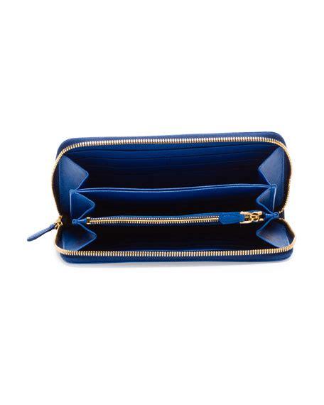 Prada Safiano 98 El prada saffiano bicolore wallet prada zip wallet black