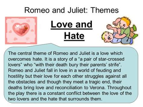 primary themes of romeo and juliet themes in romeo and juliet slideshare sle essay story of
