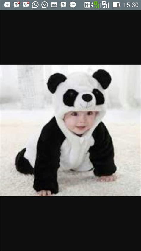 baju anak panda kostum anak lucu