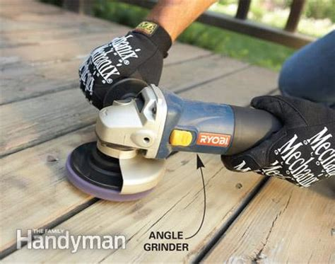 remove flaking deck stain  family handyman