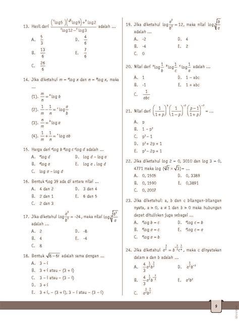 Jual Buku Soal Matematika Sma by Jual Buku Strategi Cerdas Bank Soal Matematika Sma Kelas X