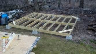 floor joist spacing shed search sheds