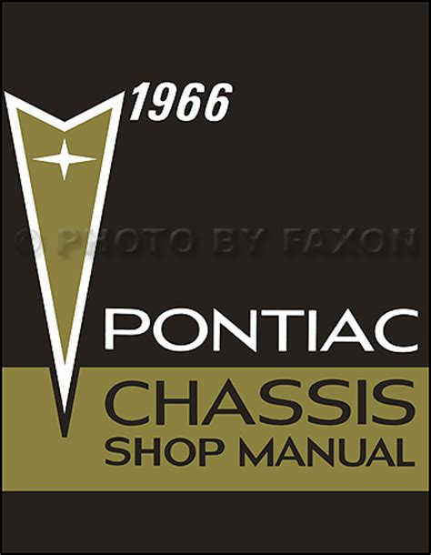1966 pontiac repair shop manual reprint bonneville grand