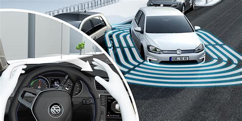 E Golf Autonomy by Vw Demonstrate The E Golf Which Parks And Charges Itself