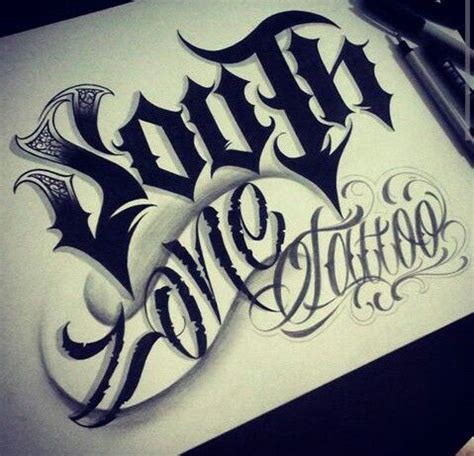 tattoo zone south zone lettering fonts