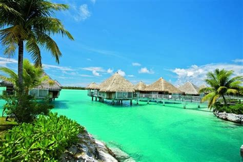 tiki hut vacations on the water tahiti huts over water yes looks like a place for