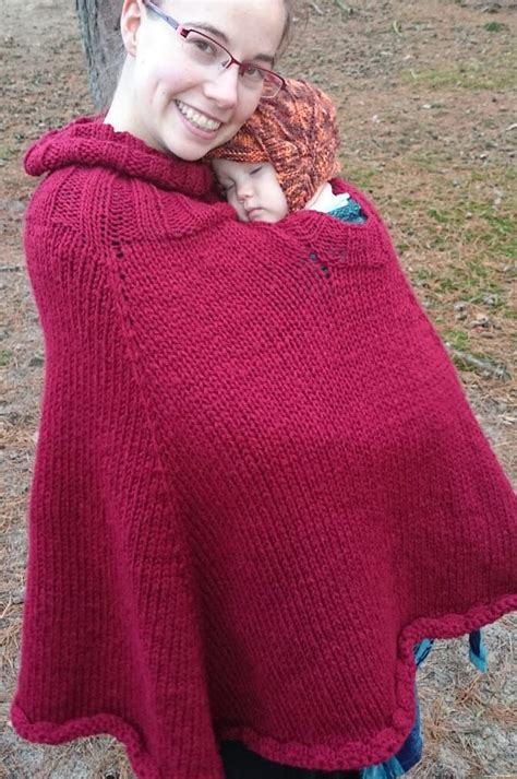 free knitting pattern baby poncho ponchos for babies and children knitting patterns in the