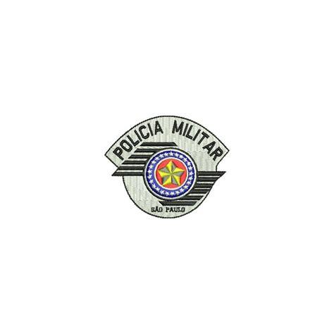 policia militar de sao paulo bordado bras 227 o da pol 237 cia militar de s 227 o paulo