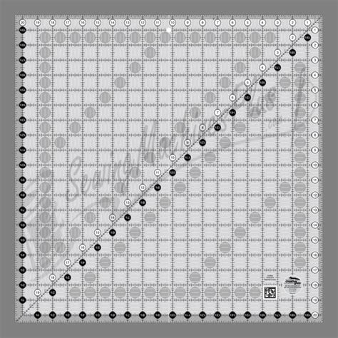 Quilting Rulers Uk by Creative Grids Quilting Ruler 20 1 2in Square Cgr20 Ebay