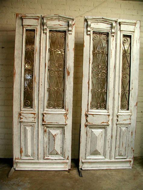 Repurposing Old Doors Pinterest French Pedestals And Dreams Antique Doors Repurposed