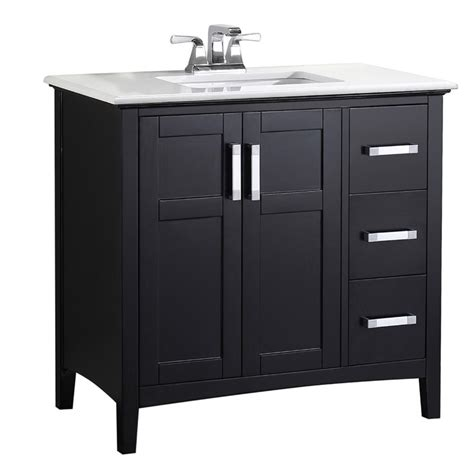 home depot design vanity design element stanton 36 in w x 20 in d vanity in antique white home depot bathroom vanity 36 avanity modero 36 inch w