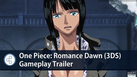 emuparadise one piece romance dawn one piece romance dawn 3ds gameplay trailer youtube