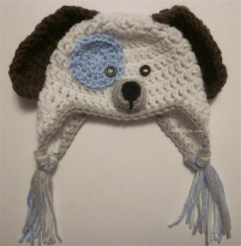 crochet puppy hat free pattern crochet hat squareone for