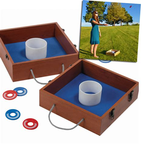 portable washer toss backyard or tailgate