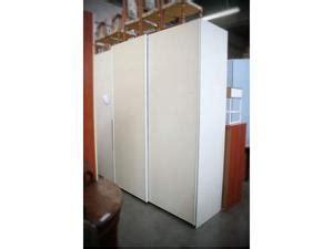 armadio bianco usato armadio 2 ante scorrevoli laccato bianco posot class