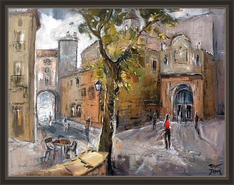 imagenes de pinturas urbanas solsona lleida lerida catedral arte pintura pinturas