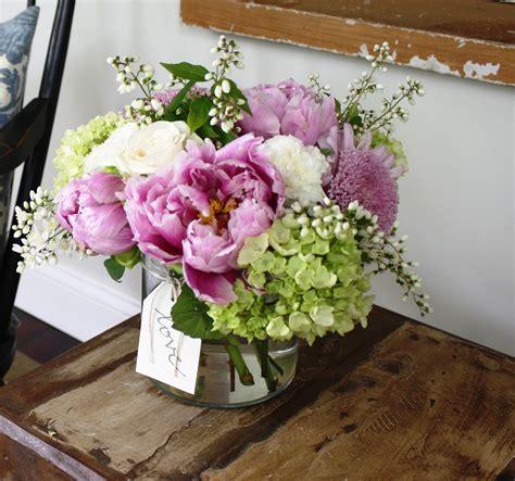 peony floral arrangement peonies domestikatedlife