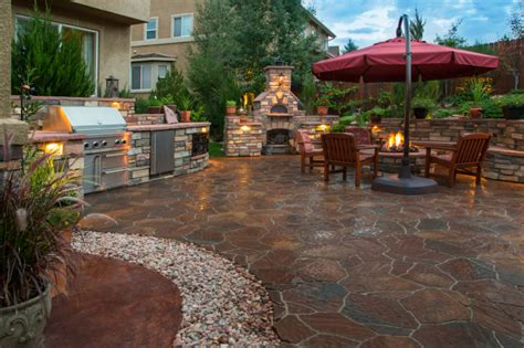 large patio design ideas 88 outdoor patio design ideas brick flagstone covered