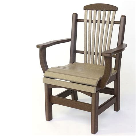 Captain Dining Chairs by Dining Height Chairs The Amish Craftsmen Guild Ii