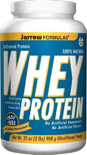 L Hi Protein Daily Formula Jarrow Formulas Whey Protein Unflavored Ultrafiltered
