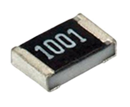 thick surface mount resistor mcr18ezpf1000 rohm mcr series thick surface mount fixed resistor 1206 100ω 177 1 0 25w