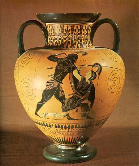 Achilles And Penthesilea Vase gjcl classical history achilles and penthesilea