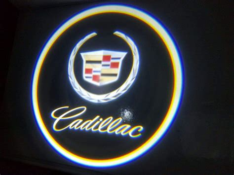 Kaos Shp Logo Glow cadillac door projector courtesy puddle logo light