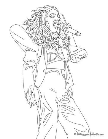 Lady Gaga Coloring Pages To Print Coloring Pages Gaga Coloring Pages
