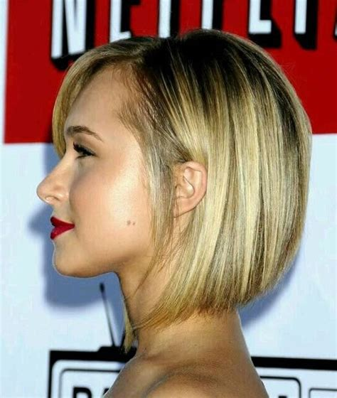cute graduated bob haircut for girls short hairstyles cute stacked bob haircut side view of graduated bob