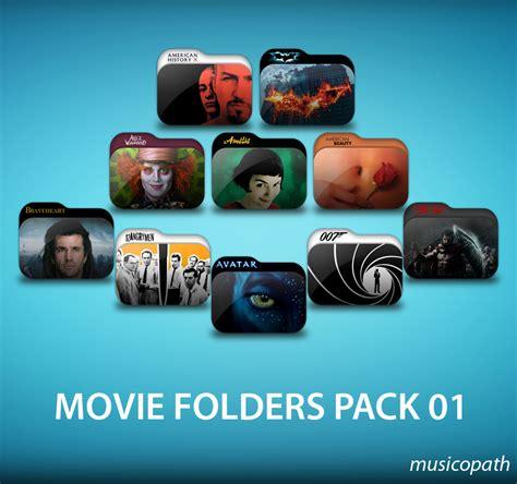 epic film burn 50 pack movie folders pack 01 by musicopath on deviantart