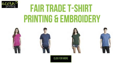 Fair Trade T Shirts For At Get Ethical by Fair Trade T Shirt Printing And Embroidery Organic And