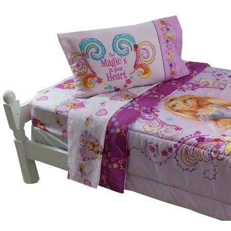 rapunzel twin bedding disney tangled bedding set rapunzel magic bed walmart