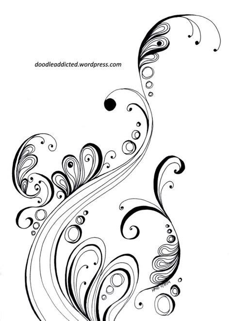 doodle swirl pattern 201 best images about scrolling on pinterest wood