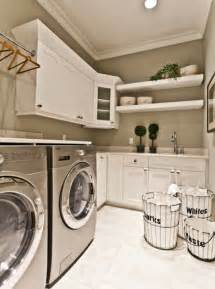 five great ideas for a reved laundry room