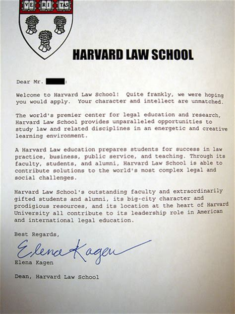 Acceptance Letter From Harvard School Harvard Acceptance Letter New Calendar Template Site